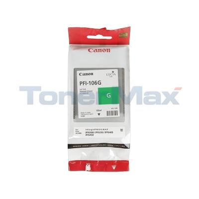 CANON PFI-106G IMAGEPROGRAF IPF6300 INK GREEN 130ML